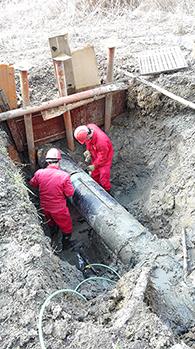 苏州天然气管道检测铺设清管通球阴极保护