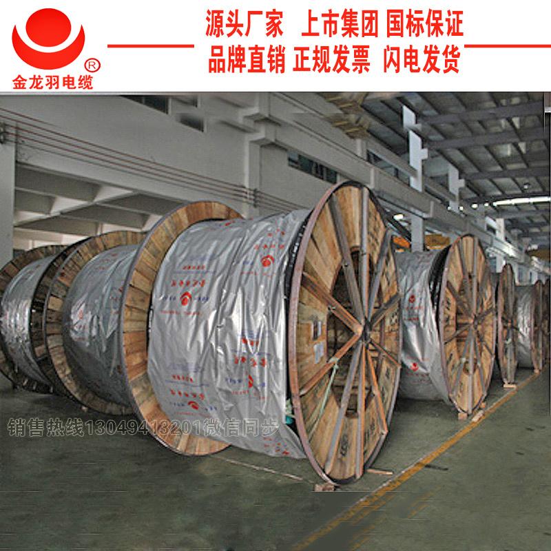 金龍羽0.6/1KV阻燃電力電纜3*120+1*70 金龍羽集團