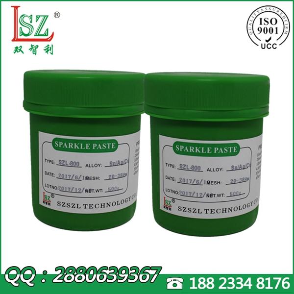 QFN无铅锡膏,3个银环保锡膏,流动性好焊锡膏厂家