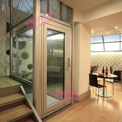 """崂山三层家人家庭自用电梯 """"客厅 阳台小型升降机家用\安装维护"""