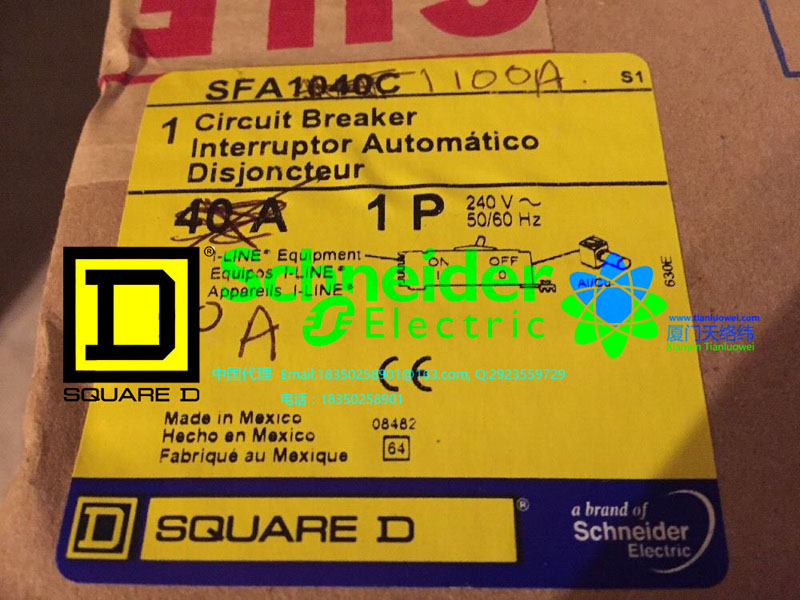 Square D Sy//Max Multiplexed BCD Output Module 8030 ROM-141 ROM141 Ser C 5 VDC