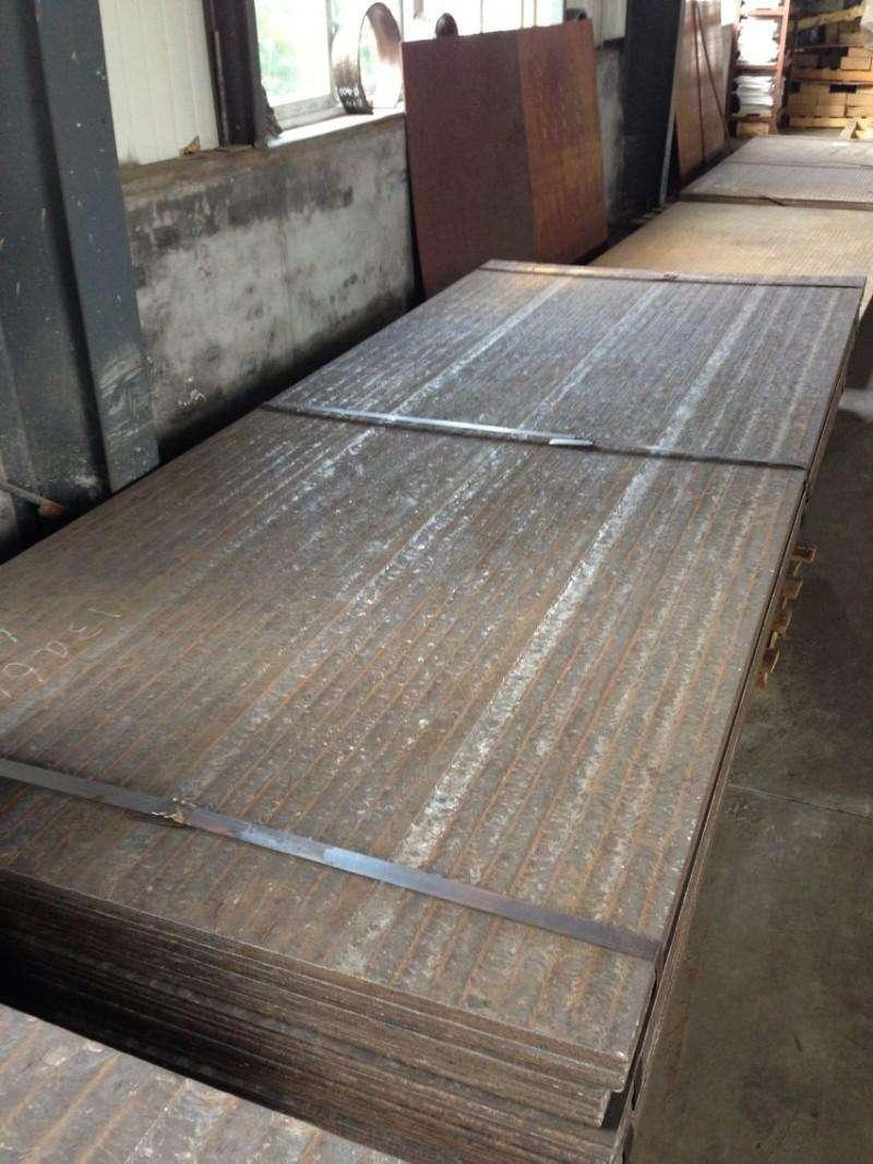 耐磨钢,海口耐磨板价格,堆焊复合耐磨板