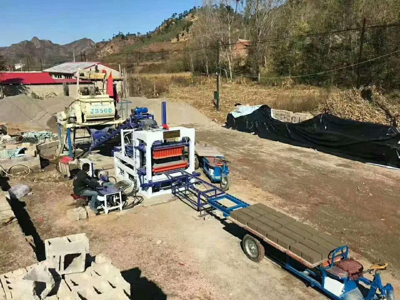 厂家供应、白塔水泥砖机%电话15102715078