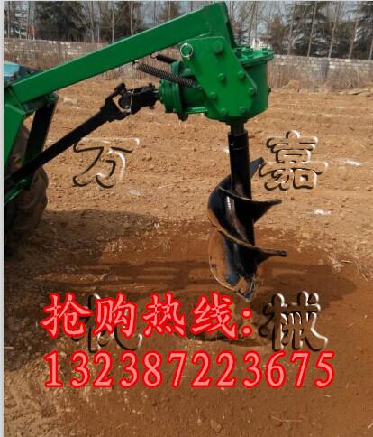 集贤县大功率四冲程地钻 植树挖坑机 施肥打坑机 钻地机
