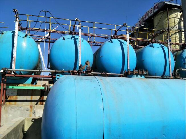 化工厂盐酸储罐液位计