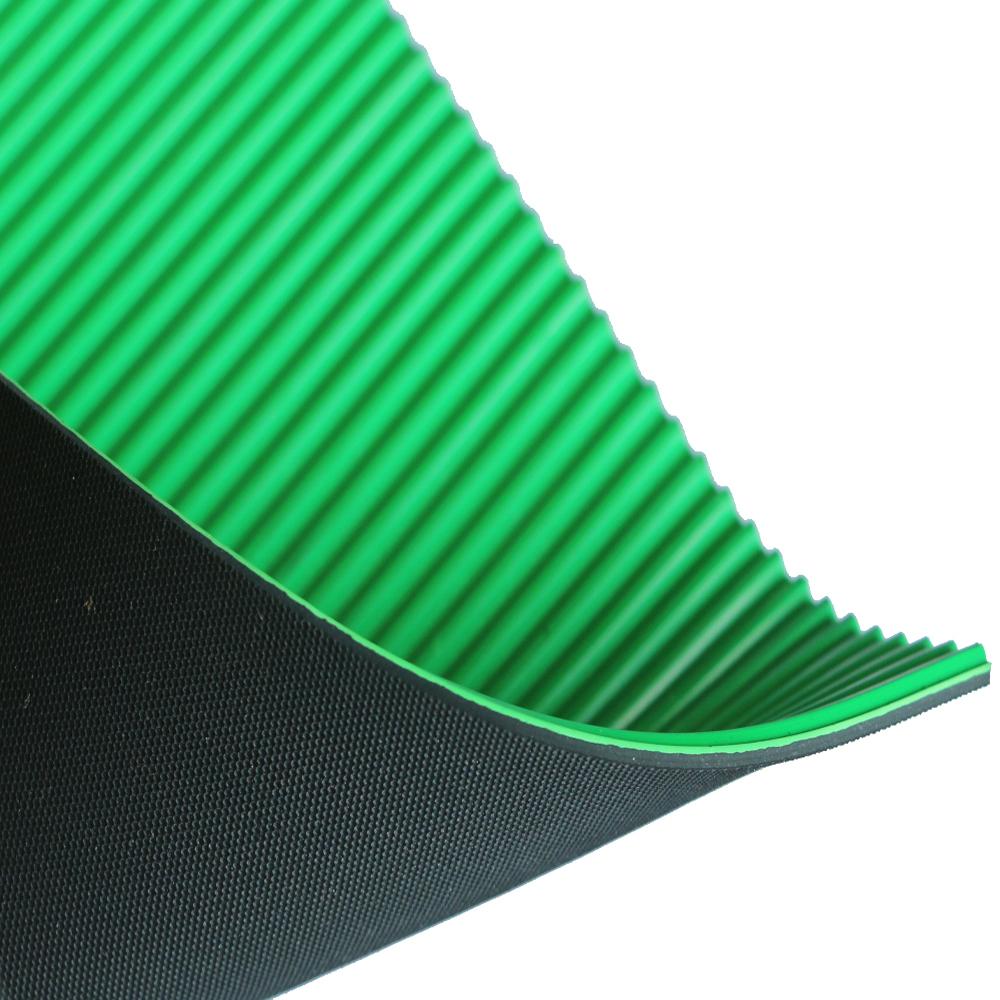 防静电橡胶板 复合双色绿黑橡胶板 丁晴橡胶板 三元乙丙橡胶板