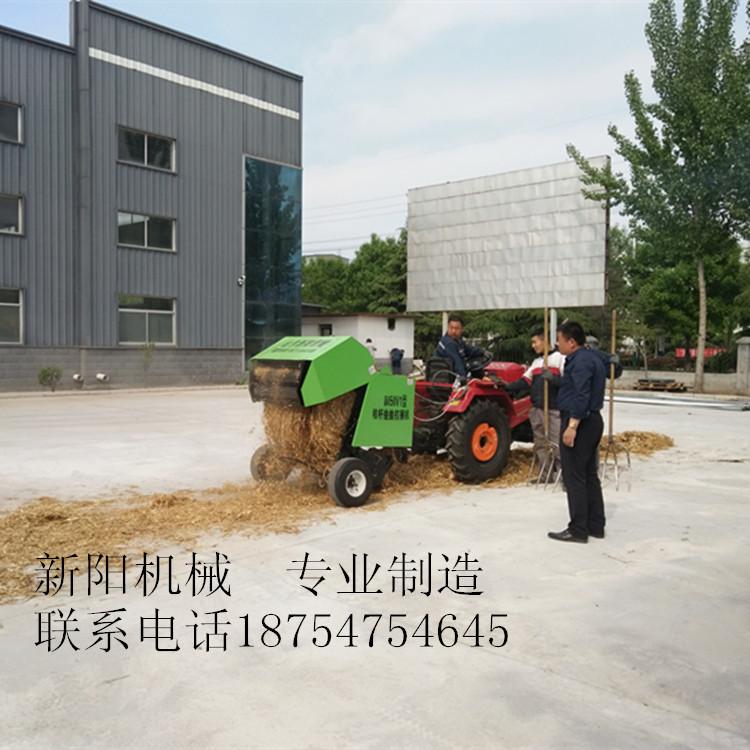 咸阳市小麦秸秆捡拾打包机视频  牵引式打捆机批发