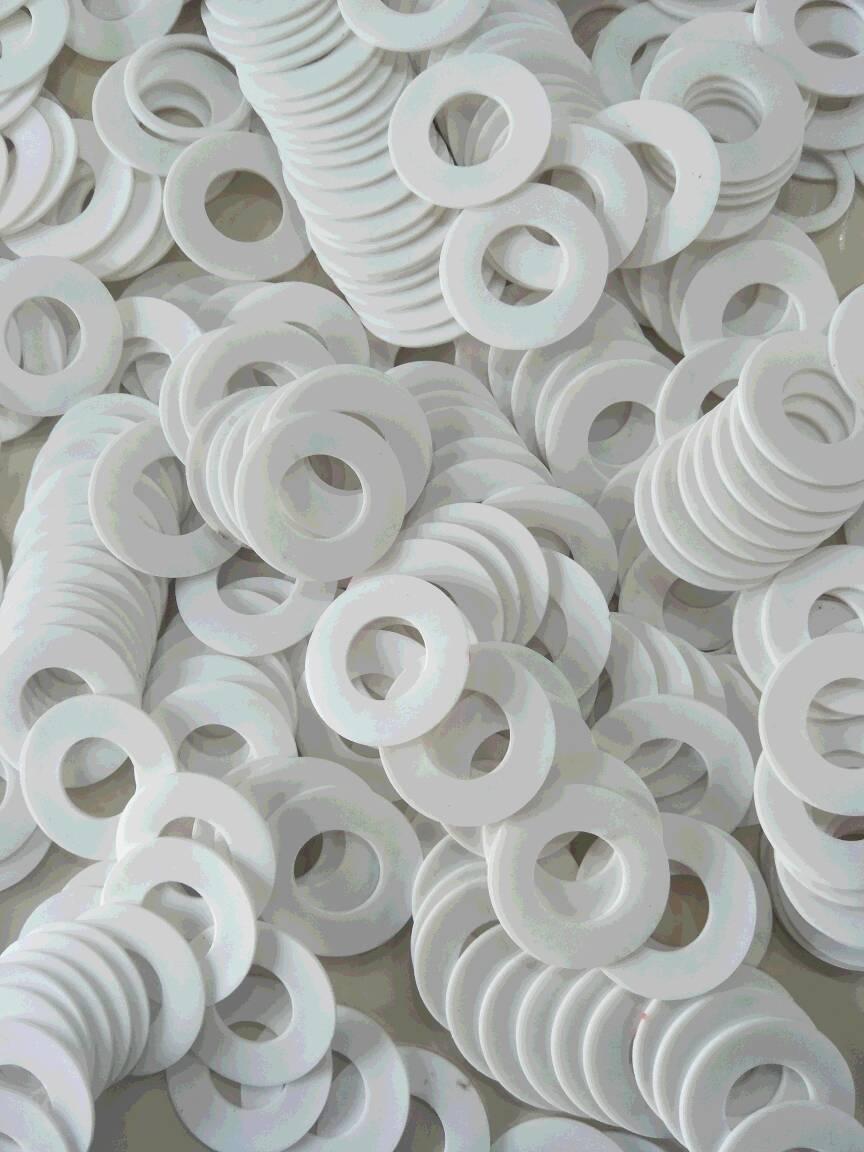 山东潍坊耐酸碱四氟垫片价格 耐磨 耐高温PTFE垫片