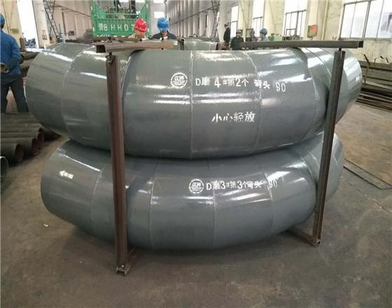 江苏江河机械DN500输送系统陶瓷耐磨管道