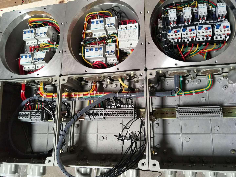四川成都防爆配电箱BXM(D)防爆配电柜IIC级隔爆箱