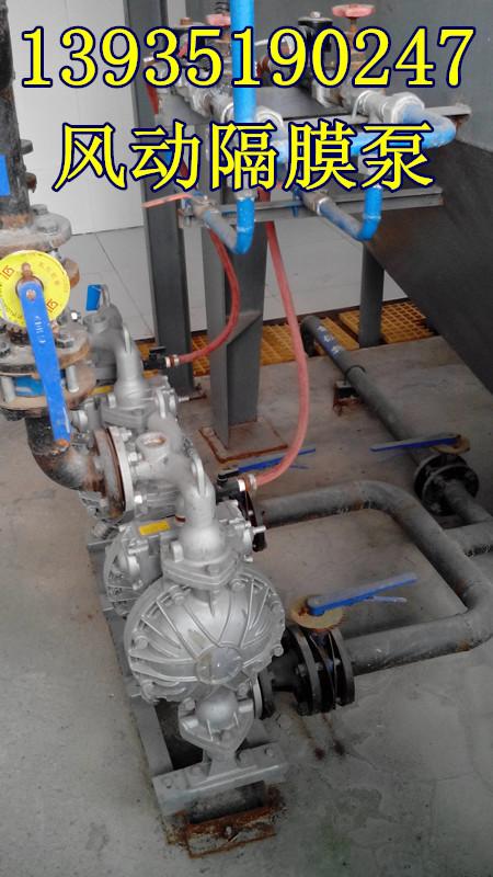 山东济南BQG450/0.2英格索兰气动隔膜泵厂家直销