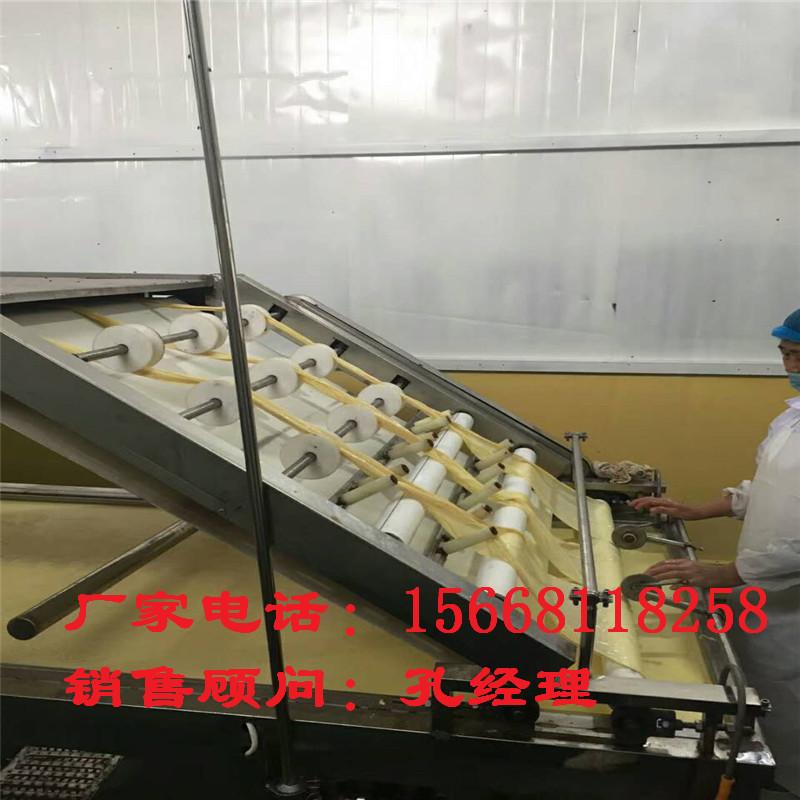 生产腐竹油皮的机器多少钱 全自动腐竹机供应厂家 上门服务