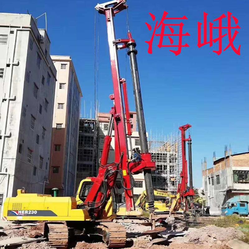 海峨旋挖鉆機 南寧總代理 樓房打樁旋挖機 小型