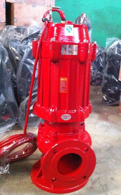 水泵高温50WQR15-15-1.5返单率高无堵塞型排污泵