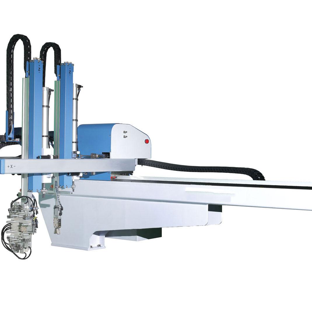 三轴卧式注塑机自动化取放料机械手