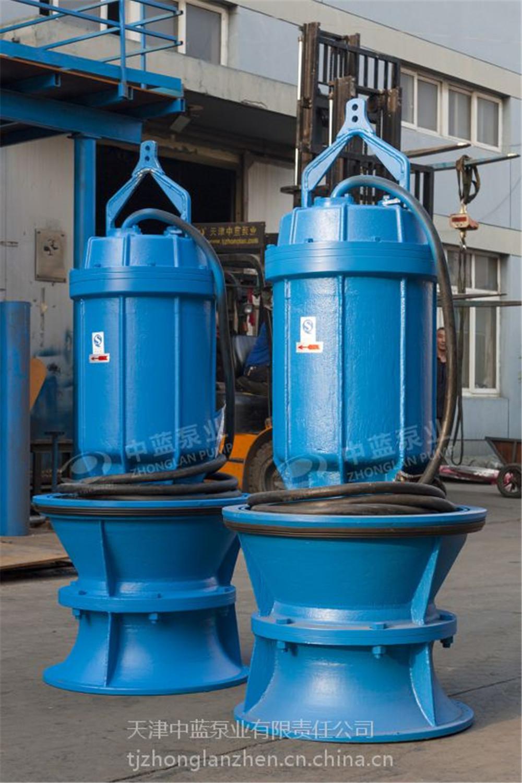 城镇建设排涝泵站用潜水轴流泵