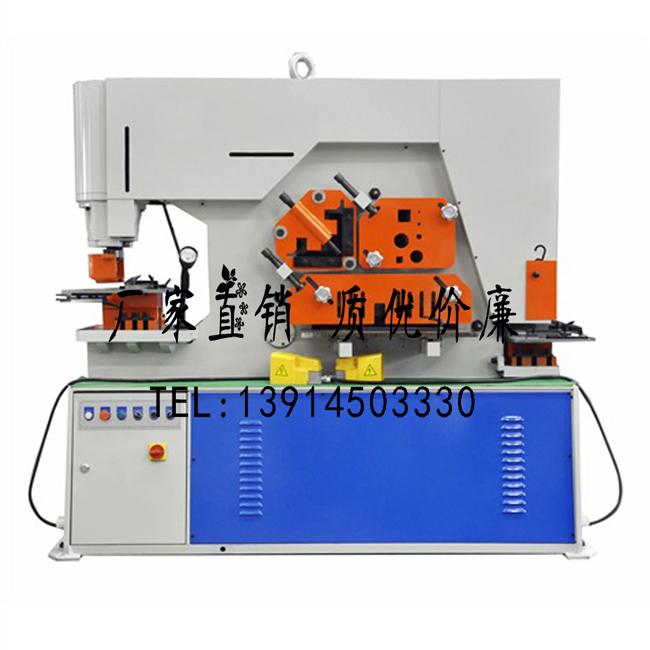 Q35Y-25液压联合冲剪机 120吨多功能联合冲剪机厂家直销,冲减一体