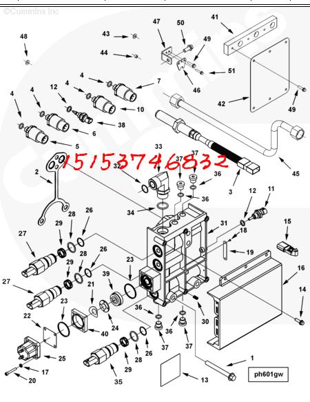 3347907燃油控制器QSK23[USA进口】cummins高端设备