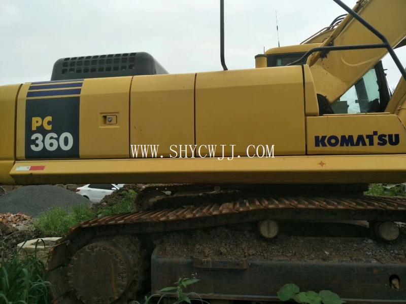 二手挖掘机小松360纯土方车