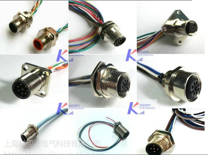 M12插座|M12面板插座|M12信號插座