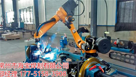 点焊机器人案例-百亿游戏网址价上升7月团客微减埃斯顿机器人工程有限公司
