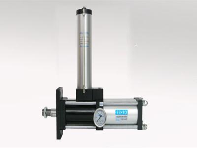 水平安装式气液增压缸参数