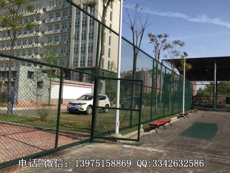 娄底企业篮球场地围网施工建设|涟源公园体育场围网生产加工