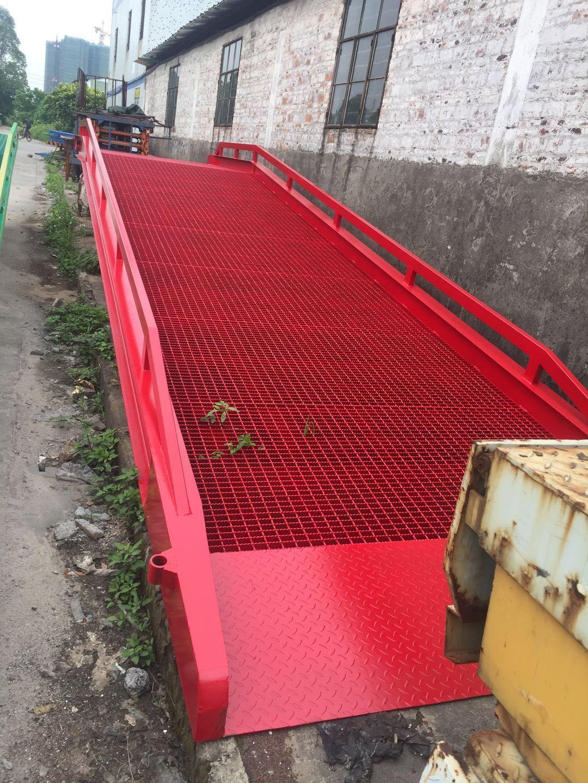 叉車上貨登車橋生產廠家、佛山20噸裝卸平臺報價