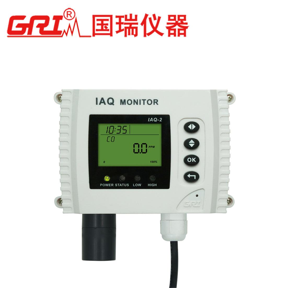 壁挂式二氧化碳气体检测控制器