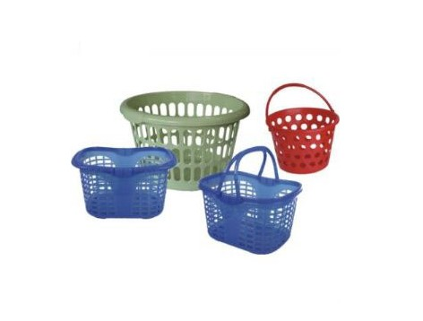 塑料模具城生产优质超市购物篮模具