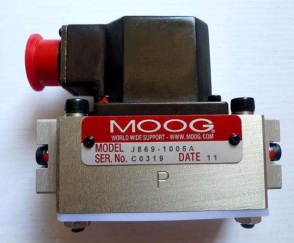 MOOG伺服阀D661-7489C穆格伺服阀