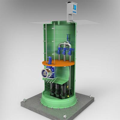 雨水一体化预制泵站,污水预制泵站,一体化提升泵站