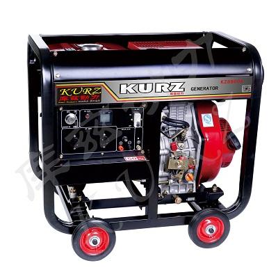 10KW电启动库兹原装柴油发电机价格多少