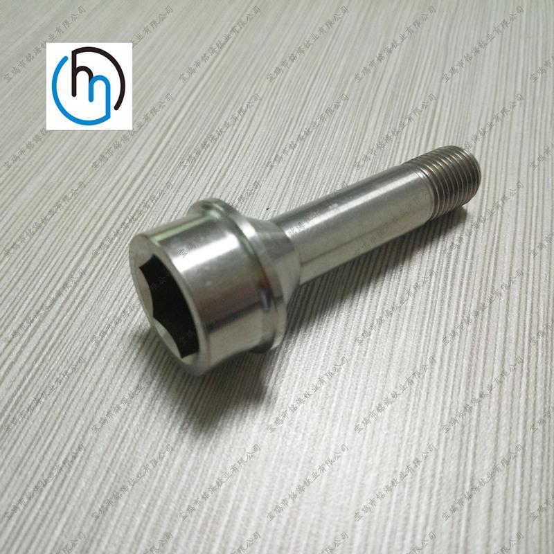 圆柱高强度钛内六角头螺栓定制各种非标钛合金螺栓钛螺丝生产厂家直销