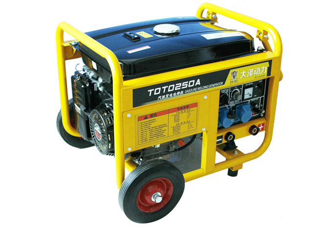 250A汽油发电电焊机公社