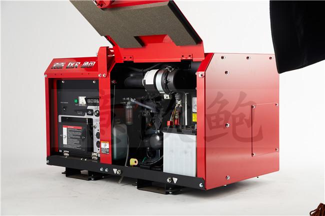 电启动15KW静音柴油发电机