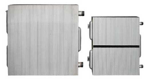 钢串片散热器春博精选钢制镀锌板散热片