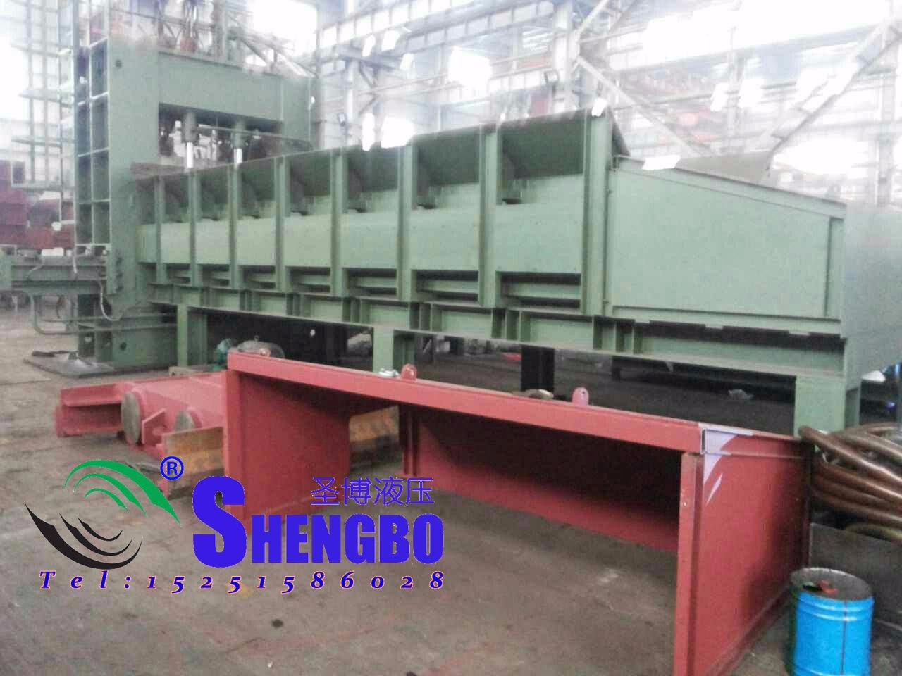 800T斜刃式剪切機 廢料大型龍門剪 液壓斜刃式剪切機 630噸液壓剪
