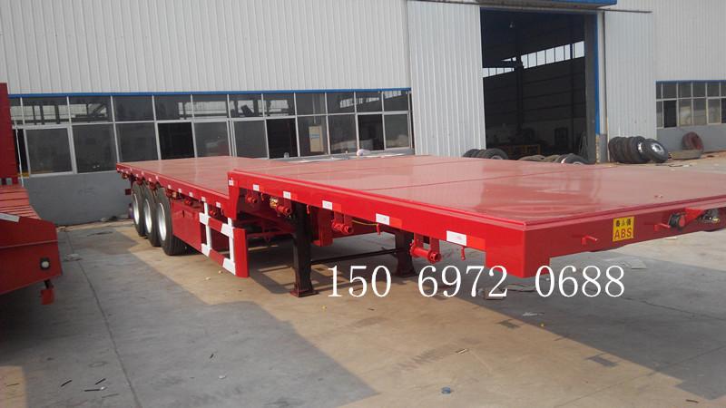 扬中轻量化11米12米13米的仓栅式仓栏半挂车价格