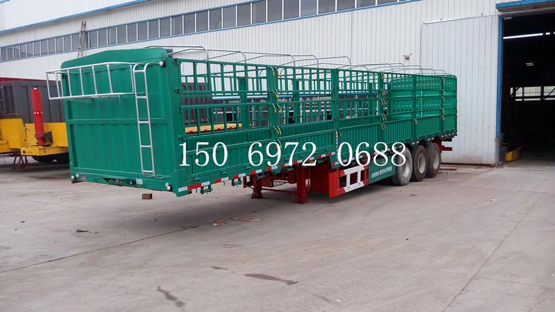 靖江11.5米12.5米13米15米低平板半挂车价格载货面尺寸