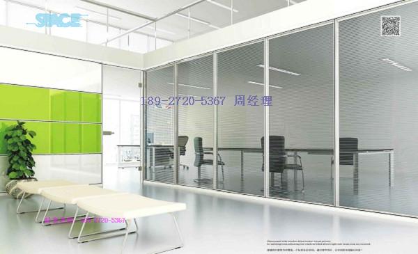 甘泉县办公玻璃隔断产品图片与介绍