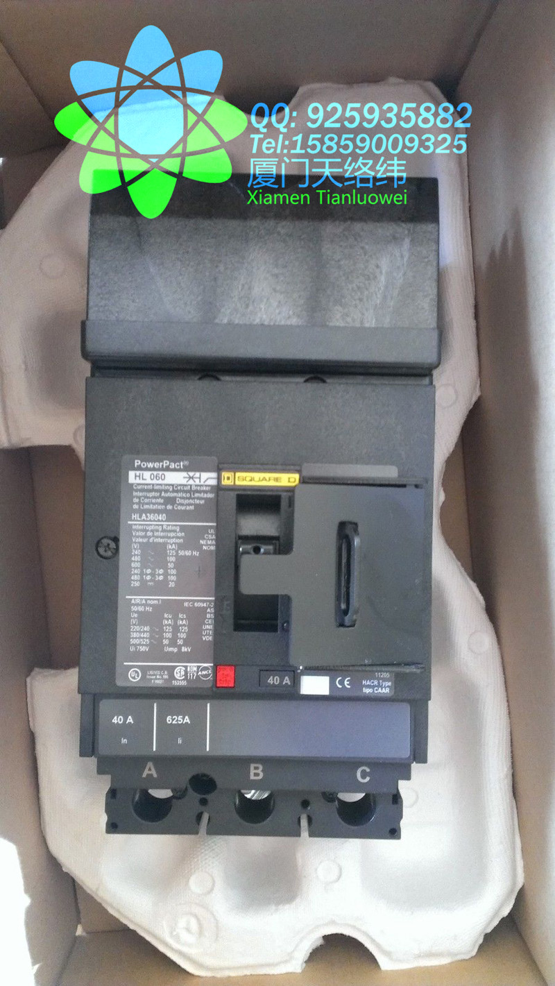 Circuit Breaker 50//60 HZ 277 Volt 5 AMP Carling Switch  CA2-B0-44-450-121-C