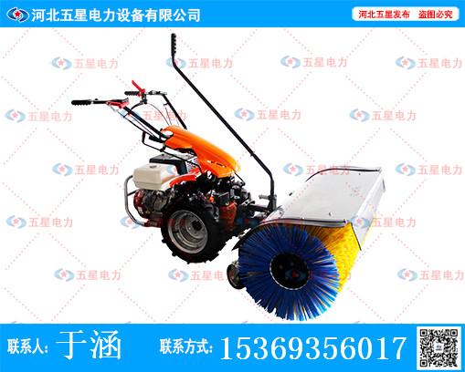 冬季雪天易出事故-冀虹牌小型抛雪机来帮你-减少车祸发生