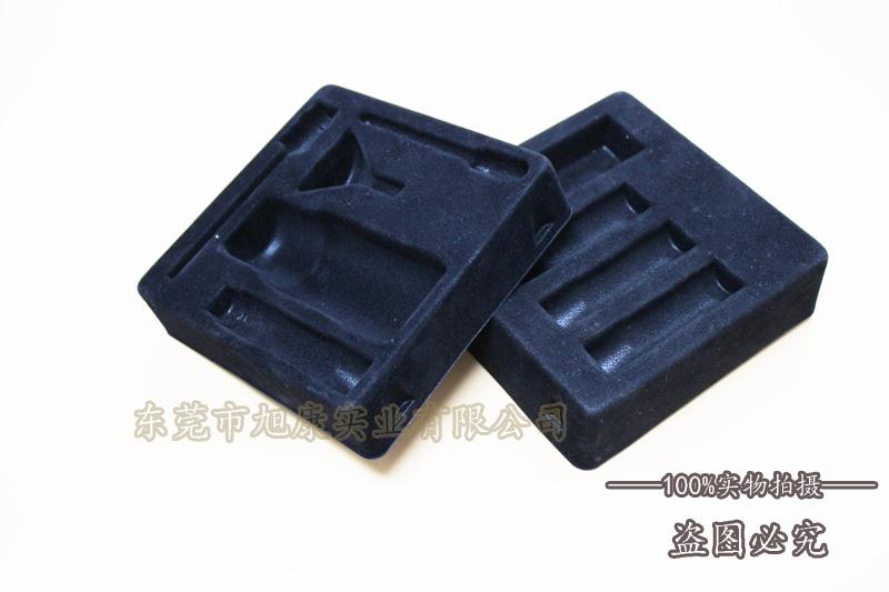 东莞旭康吸塑厂家 植绒吸塑香水内托 吸塑包装盒
