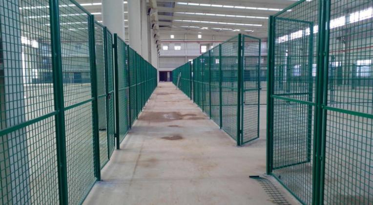 仓库隔离铁丝网-迅方车间隔离网生产厂家
