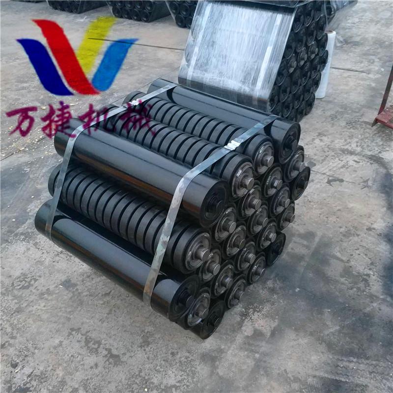 廠家批發 輸送機托輥 精品耐磨托輥 槽型托輥 質保一年