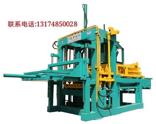 泰安彩砖制砖机厂家 植草砖砖机 砖机生产线   电话131748500