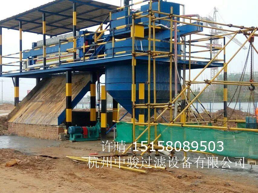 洗砂泥浆分离脱水机及操作流程
