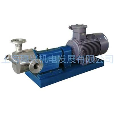 上海穗興sam 供應真空吸粉機 固液混合泵 水粉混合泵 高速高剪切混合機