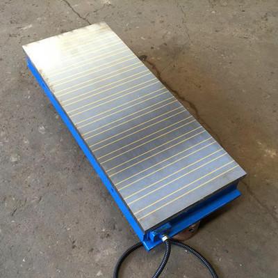 厂家批发 x91 600*1500 电磁吸盘 强力电磁吸盘 吸力均匀 操作简便 质量保障厂价供应强力
